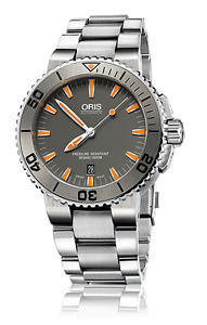 Oris Aquis Date - New, 100% authentic