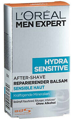 L'Oréal Paris Men Expert Hydra Sensitiv After Shave, 6er Pack (6 x 100 ml)