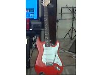 FENDER AFFINITY STRATOCASTER (RACE RED).