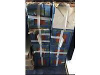 Red Floor Tile 8 Boxes X 21 Approx Tiles 6x6in