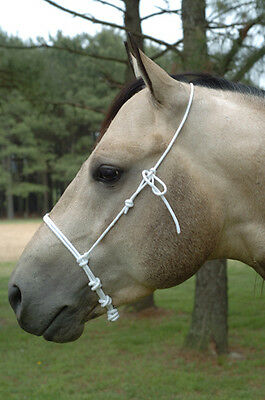 New Lami-Cell Rope Noseband Caveson. Horse Training Tack.