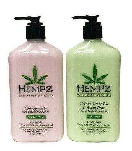 Hempz Exotic Green Tea & Asian Pear Body Moisturizer, 17 oz