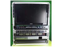 blackmagic atem 1 me production studio 4k - video switcher streaming Rack