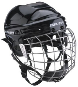 Bauer 1800 Hockey Helmet Combo (size: BHH1800L) for Junior