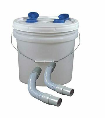 Complete Disposable Dental Plaster Trap 3.5 Gal With Hoses
