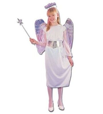Engelsblau Mädchen Halloween Kostüm Weiß Silber Kostüm Party Geburt - Halloween Geburt Kostüm