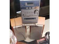 Sony HiFi radio CD and cassette player