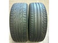 235 55 17 x2 6mm Dunlop Bridgestone