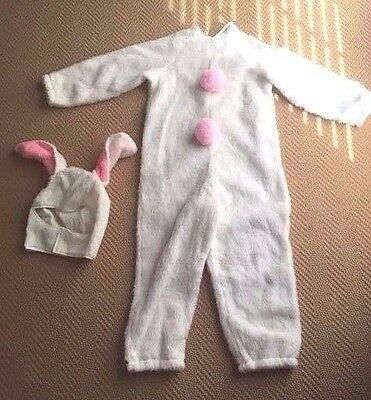 Child Easter Bunny Halloween Costume Size 4-6 Small](Kids Bunny Costumes)
