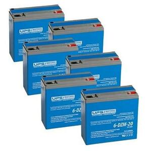 Daymak Kingston 72V 20Ah Battery Replacement