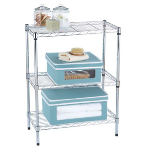 3-Tier Chrome Wire Shelf