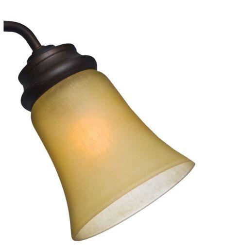 CASABLANCA 99036 Amber Linen Glass for Ceiling Fan Light Kit