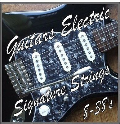 Cuerdas Guitarra Eléctrica 2.4-11.6ms Ultra Ligero Calibre Nickel Wound / .008