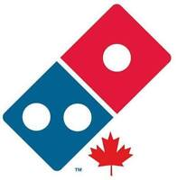 Positions available in Domino's Pizza Arnprior