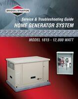 Looking for someone to repair Briggs Generator