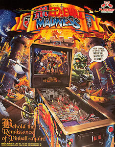 MEDIEVAL MADNESS LE GOLD TRIM PINBALL