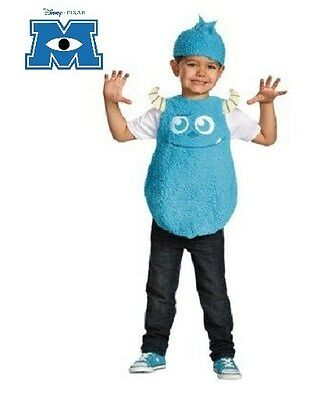 MONSTERS INC 2T SULLEY TODDLER COSTUME Boys Child Halloween Disney Pixar Kid NEW - Sulley Monsters Inc Halloween Costume