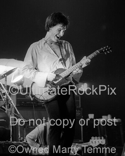 RAY DAVIES PHOTO THE KINKS 8x10 Concert Photo by Marty Temme