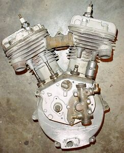 Antique 1934 Indian Sport Scout engine with title & spares London Ontario image 2