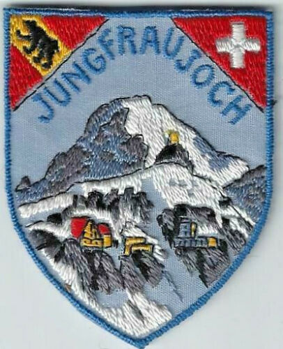 Jungfraujoch Switzerland Souvenir Patch