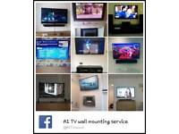 Tv plasma LCD Service . Wall mount bracket and fitting supplied