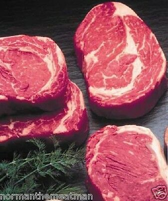 BONELESS CHOICE BEEF RIB EYE STEAKS 12 / 10 (10 Ounce Ribeye)