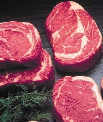 BONELESS CHOICE BEEF RIB EYE STEAKS 12 / 10 oz