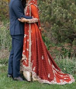 Pakistani Wedding dress Bridal Lengha