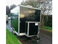 Catering trailer and equipment utensils and packaging