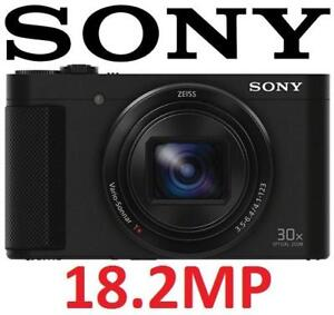 REFURB SONY CYBERSHOT HX90V CAMERA DSCHX90VB 145571370 Wi-Fi 18.2MP 30x Optical Zoom Digital Cam