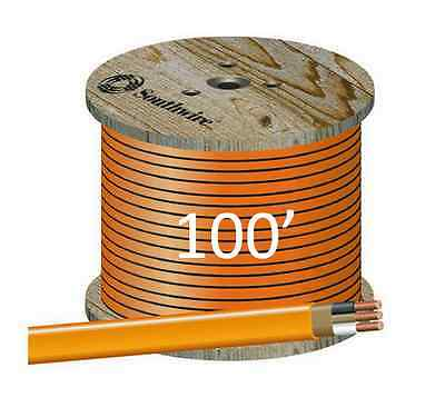 102 Nmb 100 Romex Non-metallic Jacket Copper Electrical Cable 3 Wire