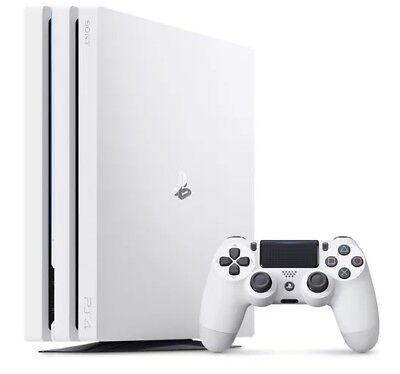 PS4 Pro White 1TB Console