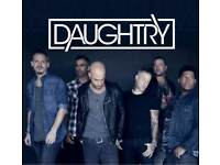 Daughtry Tickets - FRONT STALLS - Hammersmith Apollo - Sunday 21st October 2018