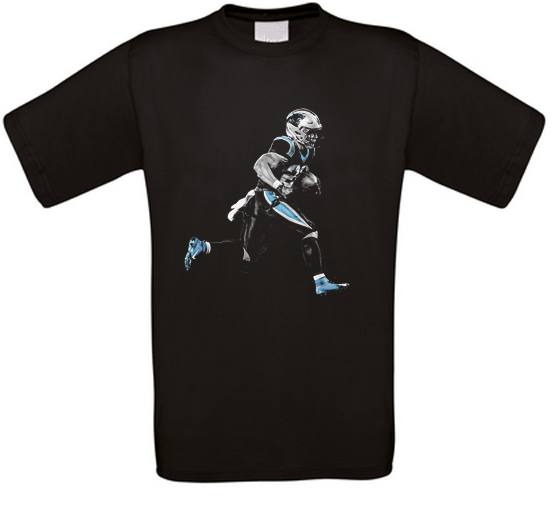 Christian McCaffrey Carolina American Football T-Shirt alle Größen NEU