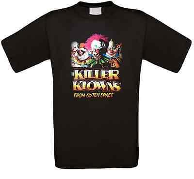 Killer Klowns from Outer Space Horror Kult Movie T-Shirt alle Größen NEU ()