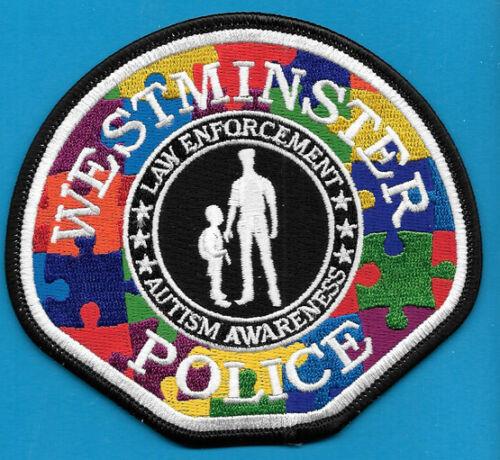 WESTMINSTER CALF CAL CA POLICE AUTISM AWARENESS WPD PD