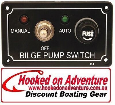 Bilge Pump Control Panel