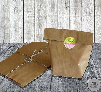 6 Geschenktüten für Ostern / Papiertüten mit Sticker / Frohe Ostern / Geschenke