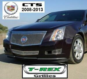 NEW T-REX GRILLES CADILLAC GRILL - 121691874 - UPPER CLASS SMALL MESH STAINLESS POLISHED FINISH
