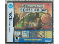 Nintendo DS game: Professor Layton and the Diabolical Box