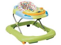 Chicco sit-in baby walker.