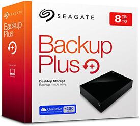 8TB External hard drive