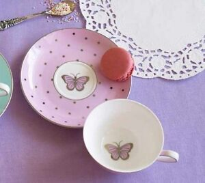 Bombay-Duck-Miss-Darcy-Bird-Teacup-Saucer-in-Rose-Pink-Tea-Cup-Set-Party