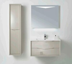 """36"""" Wall-Hung Vanity PACKAGE DEAL! (All White Colour)"""