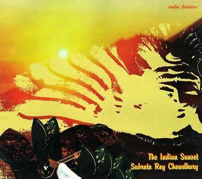 SUBROTO ROY CHOWDHURY = The Indian Sunset = CD = INDIAN CLASSICAL FOLK WORLD