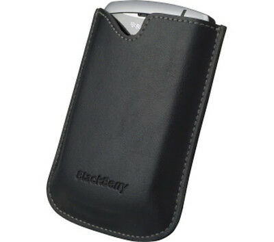 Genuine BlackBerry Holster Pouch Leather Cover For 8300/8310/8320 Brand New Blackberry 8320 Holster