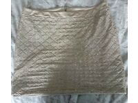Size 16 Gold Skirt