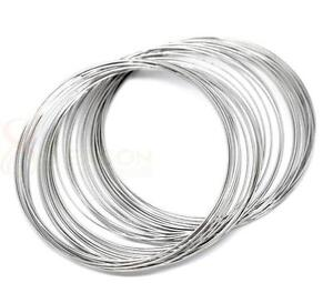 200 Loops Memory Beading Wire for Bracelet 60mm-65mm Dia.