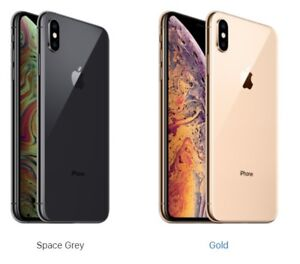 iphone XS MAX - $2300 - new sealed, 512gb; $2k for 256gb