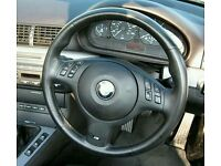 Bmw e46 m sport steering wheel